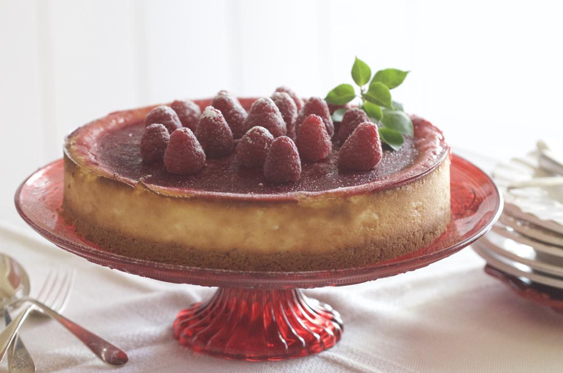 New York-Style Cheesecake. Tarta de queso fácil y deliciosa. Video receta