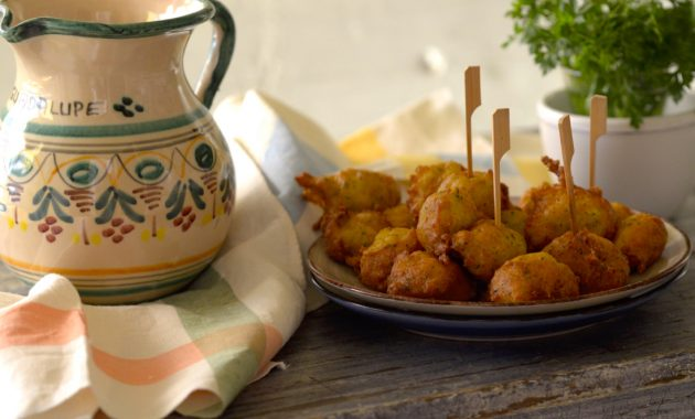 Buñuelos de bacalao. Video receta