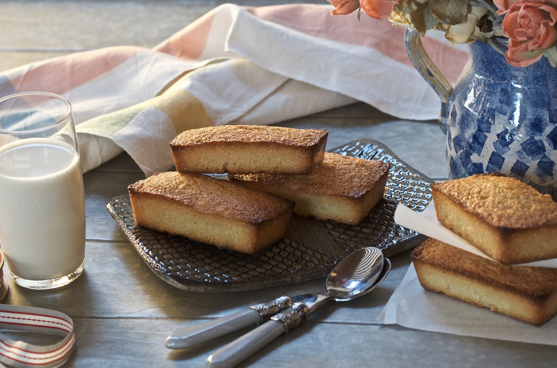 Financiers. Video receta