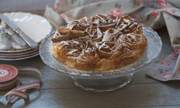 Ruffle milk pie. Video receta