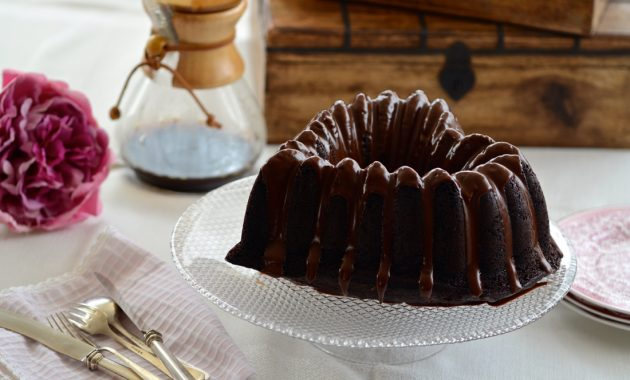 Bundt Cake de Chocolate. Video receta
