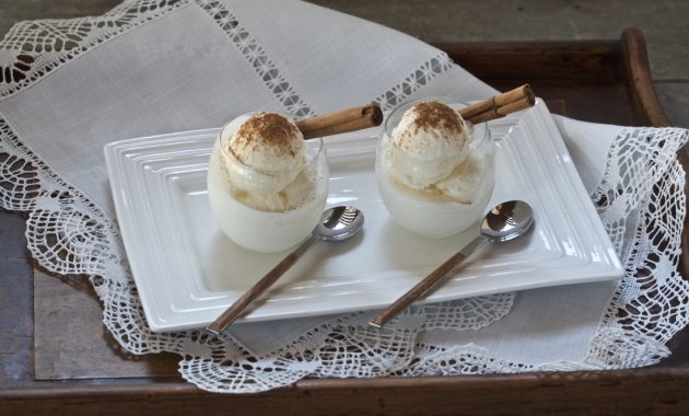 Helado de leche merengada. Video receta