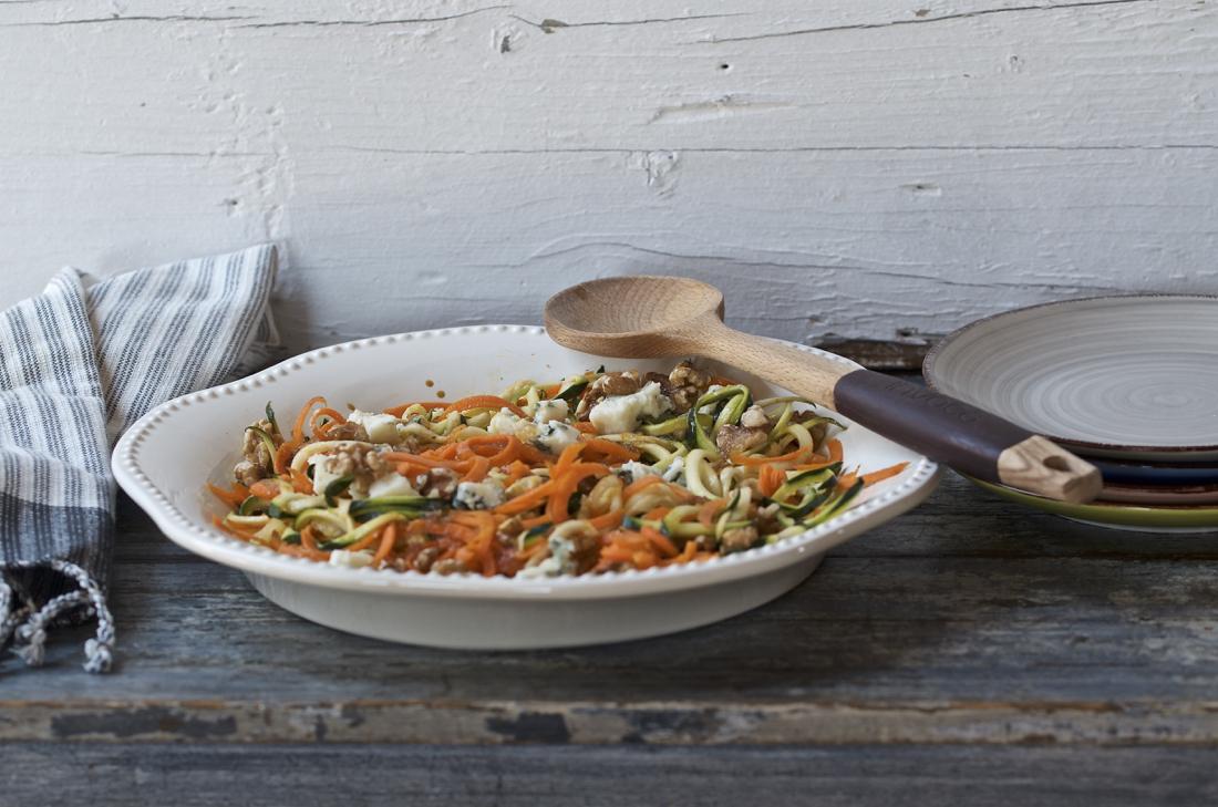 Ensalada de espaguetis de verdura. Video receta