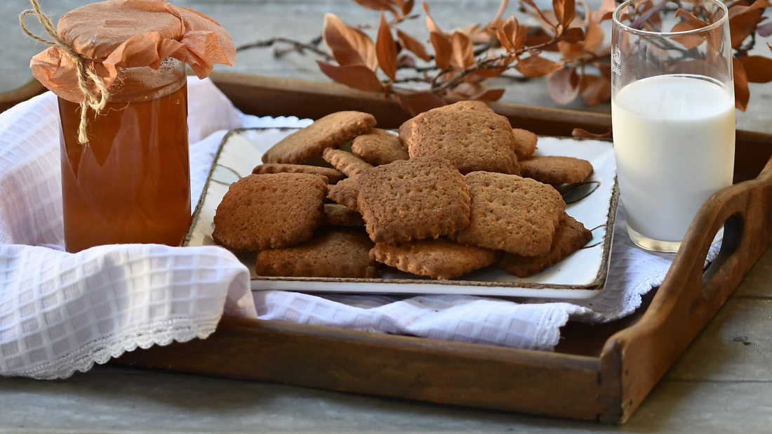 Galletas de coco y miel. Video receta