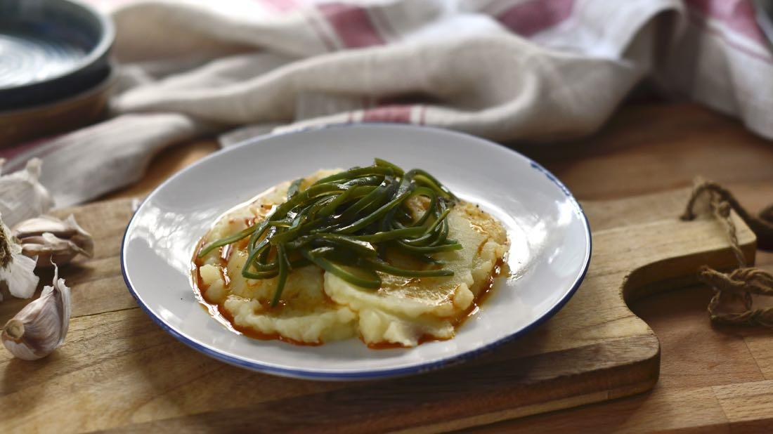 Judías verdes con patatas. Video receta