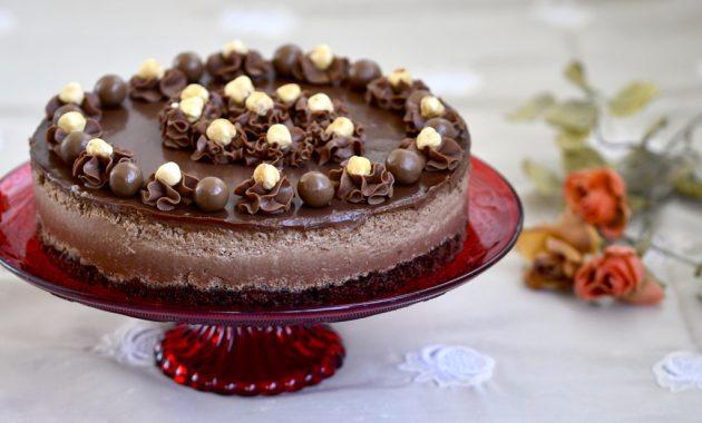 Tarta Mousse de Nutella. Video receta