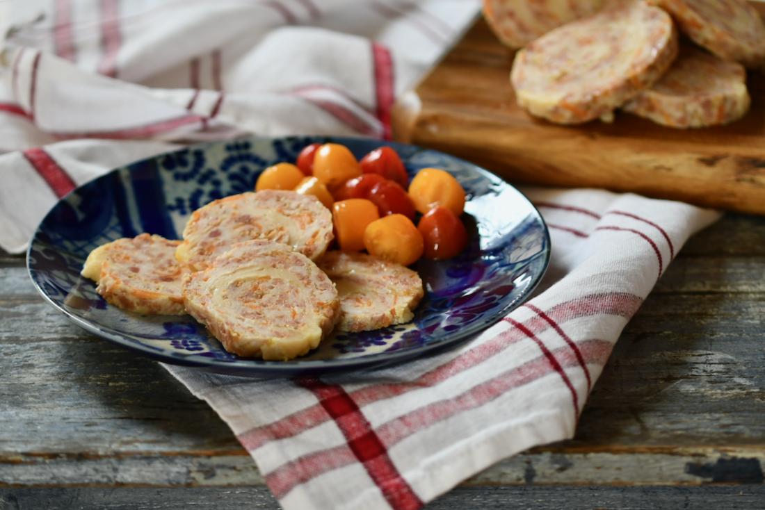 Fiambre casero de pollo. Video receta
