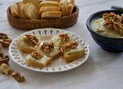 Paté de queso con nueces. Video receta