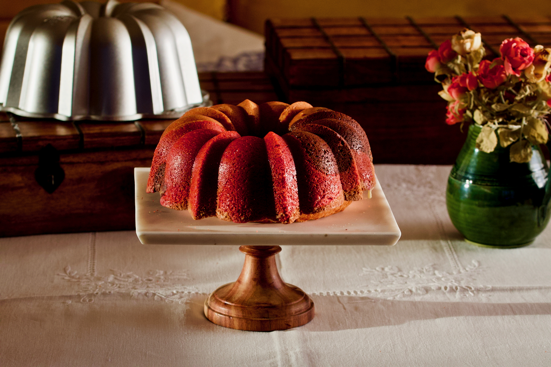 Neapolitan Bundt Cake. Video receta