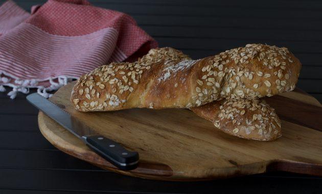 Pan rústico sin amasar. Video receta